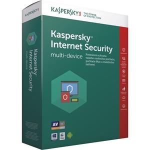 Obrázek Kaspersky Internet Security 2020 Multi-Device, licence pro nového uživatele, počet licencí 3, platnost 2 roky