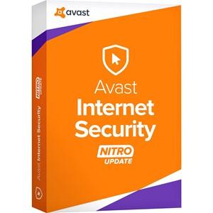 Obrázek Avast Internet Security 2018, licence pro nového uživatele, platnost 1 rok, počet licencí 1