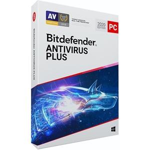 Obrázek Bitdefender Antivirus Plus 2020, obnovení licence, platnost 3 roky, počet licencí 5
