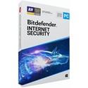Obrázek Bitdefender Internet Security 2021, licence pro nového uživatele, platnost 2 roky, počet licencí 3