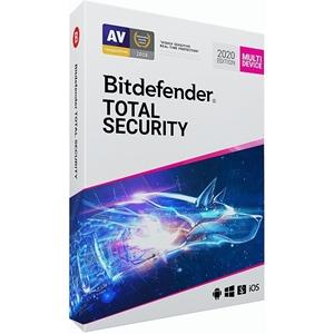 Obrázek Bitdefender Total Security 2021, obnovení licence, platnost 2 roky, počet licencí 10