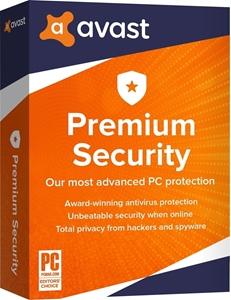 Obrázek Avast Premium Security 2020, licence pro nového uživatele, platnost 3 roky, počet licencí 10